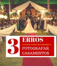 Fotografar casamentos