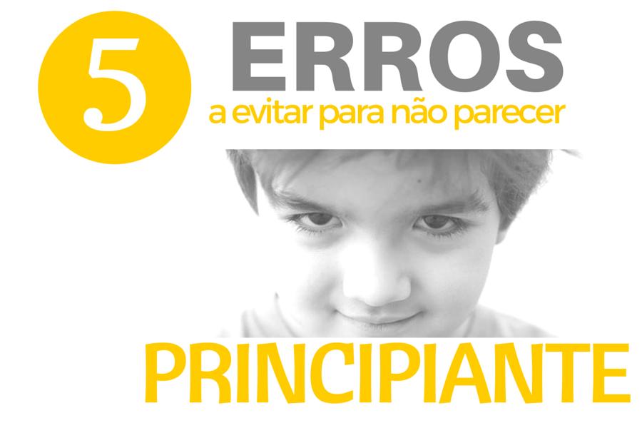 5 erros em FOTOGRAFIA
